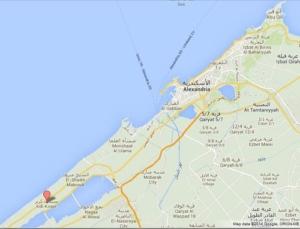 خريطة قرى الساحل الشمالي مصر
